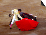 Matador at Monumental El Paso, Bullfight (Fiesta Brava), San Luis Potosi, Mexico Posters by Russell Gordon