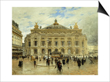 Grand Opera House, Paris Art by Frank Myers Boggs