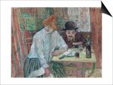 At the Caf' La Mie Pósters por Henri de Toulouse-Lautrec