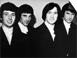 The Kinks L-R Peter Quaife, Mick Amory, Dave Davies and Ray Davies, 1966 Posters