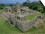 Palenque, Maya, Mexico Posters af Kenneth Garrett