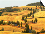 Italian Countryside of Val d'Orcia Art by Sergio Pitamitz
