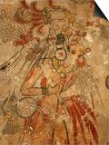 Maya Mural, San Bartolo, Guatemala Prints by Kenneth Garrett