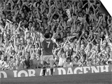 Arsenal V Leeds Liam Brady Celebrates His Goal with the Crowd, August 1978 Art