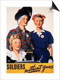 Soldiers Without Guns Prints by Adolph Treidler