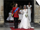 The Royal Wedding of Prince William and Kate Middleton in London, Friday April 29th, 2011 Print