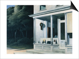 Seven A.M. Posters by Edward Hopper