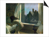 Moonlight Interior Art by Edward Hopper