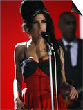 "Amy Winehouse Performs ""Rehab"" at 2007 Brit Awards from London's Earls Court on Valentines Day 2007 Poster"