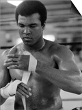 Muhammad Ali Training at His Pennsylvanian Mountain Retreat For His Fight Against George Foreman Láminas