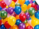 Birthday Balloons Prints by Richard Hutchings