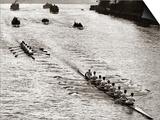 Rowing, Oxford V Cambridge Boat Race, 1928 Plakát