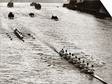 Rowing, Oxford V Cambridge Boat Race, 1928 - Poster