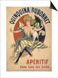 Quinquina Dubonnet Posters by Jules Chéret