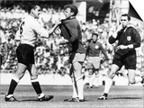 Dave McKay Footballer Plays For Spurs vs Leeds Print