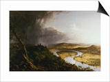 View from Mount Holyoke, Northampton, Massachusetts, after a Thunderstorm - The Oxbow Prints by Thomas Cole