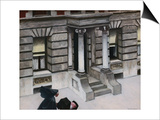 New York Pavements Posters by Edward Hopper