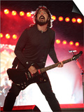 Dave Grohl of US Rock Band Foo Fighters Performs on the Main Stage at V Festival in Hylands Park Posters