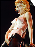 Madonna in the Conical Bra on the Blonde Ambition Tour, Wembley Stadium, 1990 Art