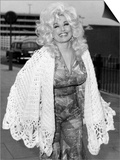 Dolly Parton American Country Singer and Actress 1976 Prints