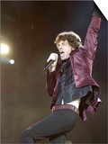 Mick Jagger of the Rolling Stones on Stage at the Isle of Wight Festival Prints