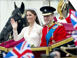 The Royal Wedding of Prince William and Kate Middleton in London, Friday April 29th, 2011 Prints