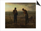 The Angelus (Prayer) Prints by Jean-François Millet