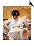 Cleopatra Art by John William Waterhouse