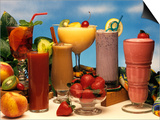 1990s Low Calorie Fruit Coolers and Smoothies Prints by J. Graham