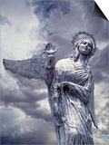 Virgin of Quito Statue on Panecillo Hill Overlooking Quito, Ecuador Posters by Jim Zuckerman