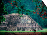 Royal Tomb, Maya, Copan, Honduras Prints by Kenneth Garrett