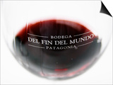 Glass of Red Wine, Bodega Del Fin Del Mundo, the End of the World, Neuquen, Patagonia, Argentina Posters by Per Karlsson