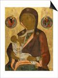 The Nursing Virgin Prints by Andrei Rublev