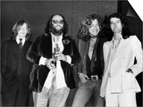 Led Zeppelin with Their Ivor Novello Award John Paul Jones Peter Grant Robert Plant Jimmy Page Plakater