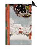 Kinryuzan Temple, Asakusa Posters by Ando Hiroshige