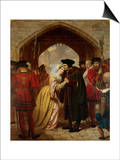 Sir Thomas Moore's Farewell to His Daughter Posters by Edward Matthew Ward
