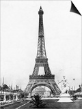 Eiffel Tower from Exhibition Grounds Posters