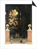 The Sugar-Plum Tree Prints by Maxfield Parrish