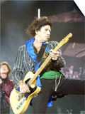 Keith Richards of the Rolling Stones on Stage at the Isle of Wight Festival Posters