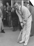 Cricket Len Hutton, July 1951 Prints