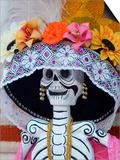 Skeleton on Day of the Dead Festival, San Miguel De Allende, Mexico Kunstdruck von Nancy Rotenberg