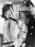 Mick Jagger Singer Songwriter the Rolling Stones After Being Arrested For Possession of Drugs Prints