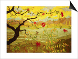 Apple Tree with Red Fruit Posters by Paul Ranson