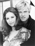 "Robert Redford with Barbra Streisand in the Highly Successful Movie ""The Way We Were"" Posters"