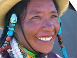 Tibetan Girl, Tibet, China Posters by Keren Su