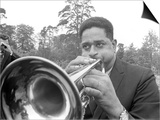 Dizzy Gillespie July 1963 Jazz Man at Fort Belvedere Near Ascot Prints