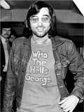 George Best Footballer Leaves Heathrow Airport For Los Angeles to Play For American Team Aztecs Print