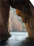 Capu Rossu, Les Calanches Unesco World Heritage Site, Porto, Corsica, France Poster par Trish Drury