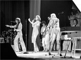 Abba Swedish Pop Band November 1979 on Stage at Wembley Arena Konst