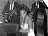 Jazz Singer Nina Simone, Performing at Annie's Club, June 1965 Posters